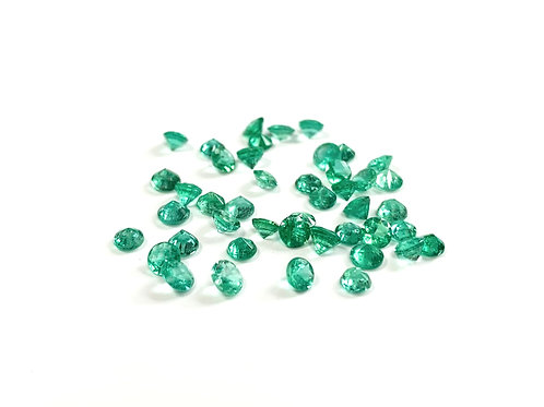 Emerald Round Approx. 3mm