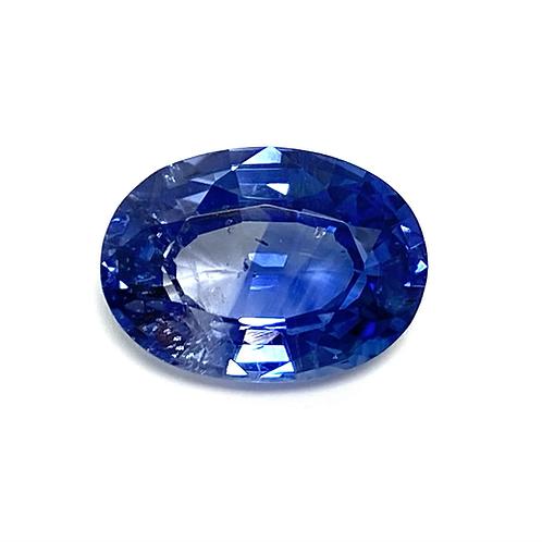 Ceylon Sapphire Oval 3.41 Cts