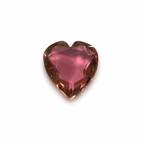 Pink Tourmaline Heart 1.94 cts