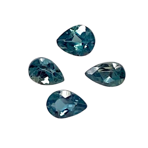 AAA Quality Alexandrite Pear 0.10 cts, 3.5 x 2.5 mm