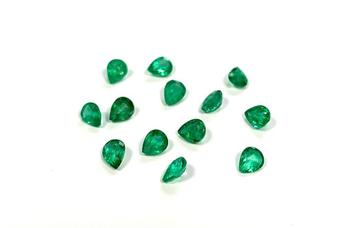 Emerald Pear 0.4 cts
