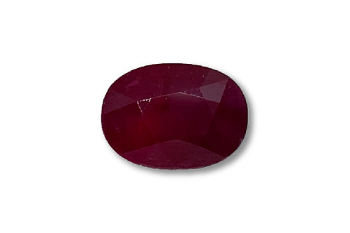 Ruby Oval 4 cts