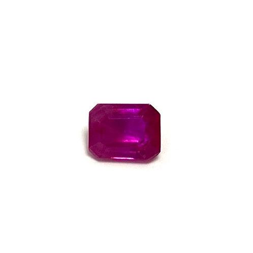 Ruby Emeraldcut 0.40 cts