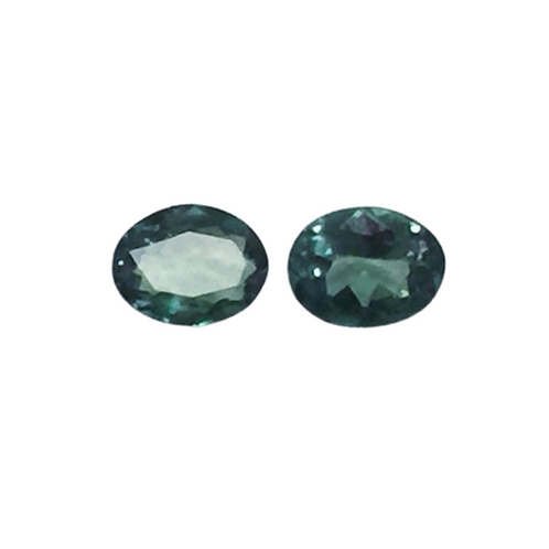 AAA Quality Alexandrite Oval Pair 5 x 4 mm