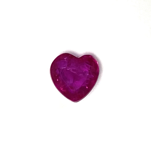 Ruby Heart 0.95 Cts