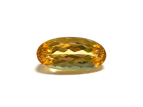 Imperial Topaz Oval 9.38 cts
