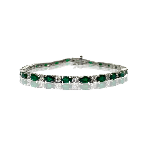 Emerald Bracelet (4 pcs)