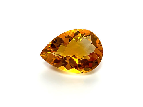 Citrine Pear 9.64 cts