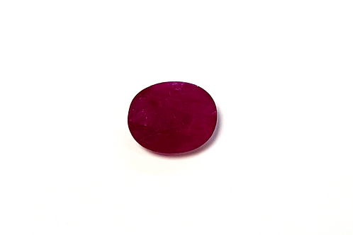 Ruby Oval min 2.5 cts