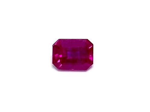 Ruby Emeraldcut 0.48 cts