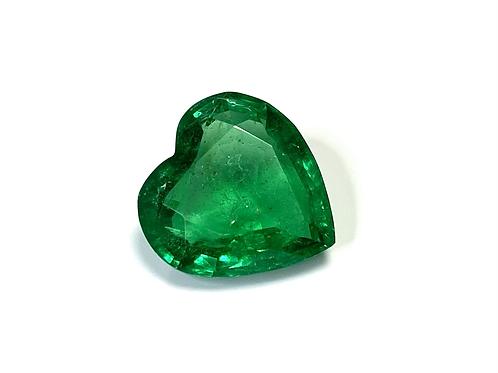 Emerald Heart 4.71 Cts