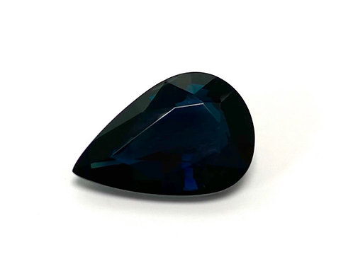 Sapphire Pear 7.71 cts