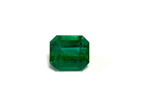 Emerald Emeraldcut 8.57 cts