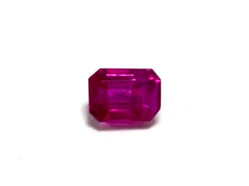 Ruby Emeraldcut 0.46 cts