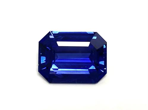 Ceylon Sapphire Emeraldcut 4.96 Cts