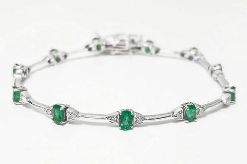 Emerald Bracelet 3.56 cts