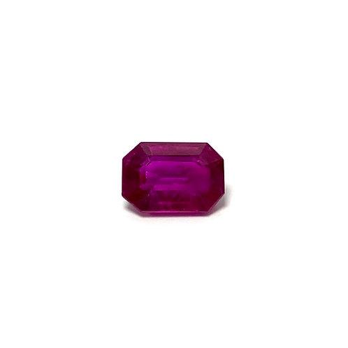 Ruby Emeraldcut 1.10 cts