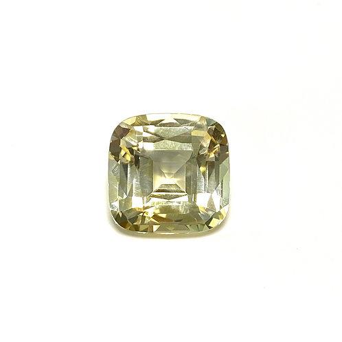Yellow Sapphire Cushion 8.17 cts