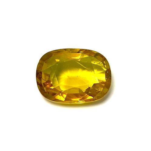 Yellow Sapphire Cushion 5.15 Cts