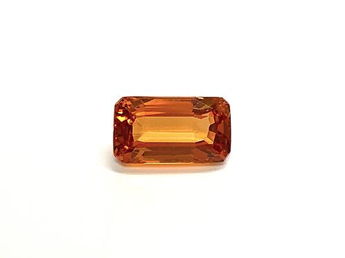 Spessartite Garnet Emeraldcut 2.09 cts