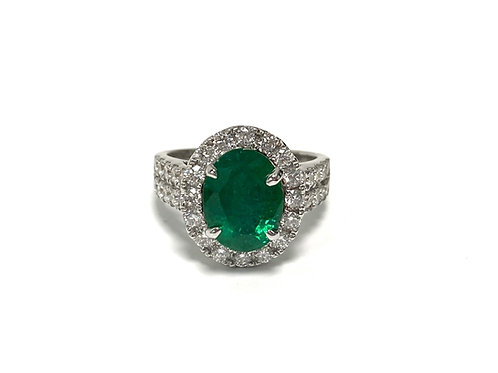 Emerald Oval 2.20 cts