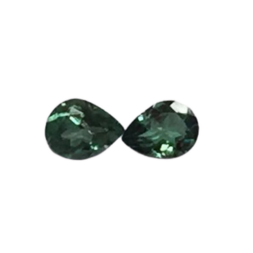 Alexandrite Pear Pair 4 x 3 mm