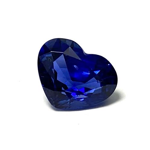 Ceylon Sapphire Heart 2.17 cts