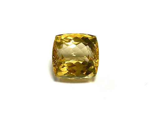 Imperial Topaz Cushion 8.74 cts