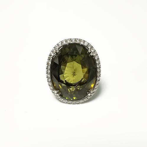 Alexandrite Oval Ring
