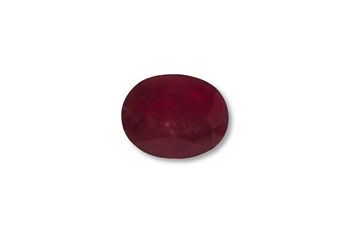 Ruby Oval 25.49 cts