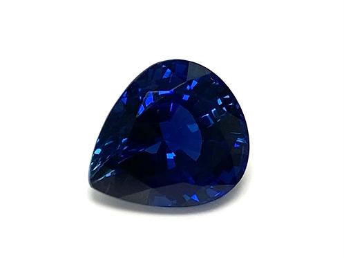 Ceylon Sapphire Pear 4.55 cts