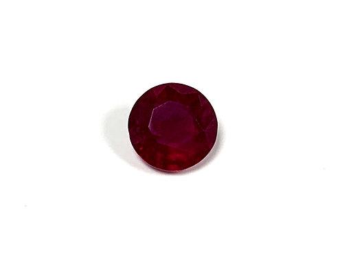 Ruby Round min 0.75 cts