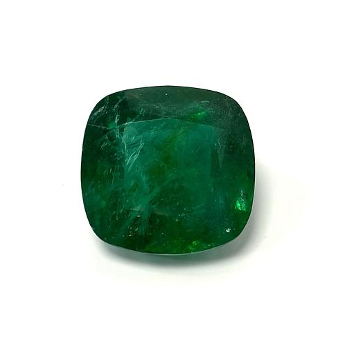 Emerald Cushion 17.423 Cts