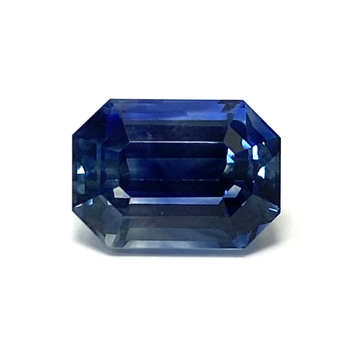 Sapphire Emeraldcut 4.97 Cts