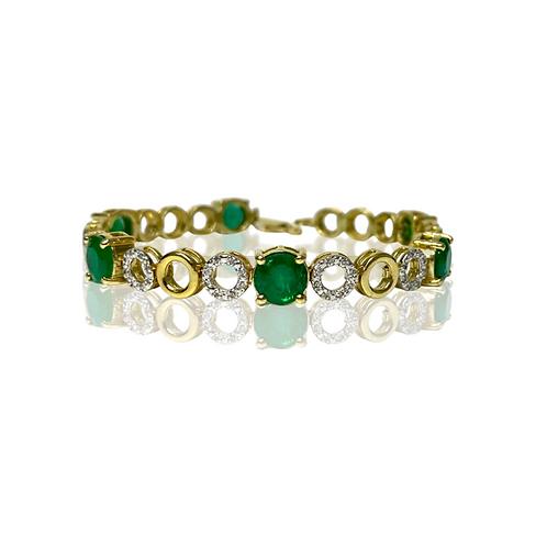 Emerald Bracelet 7.45 cts