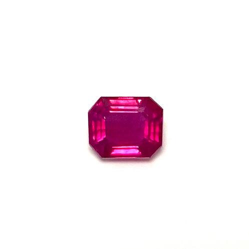 Ruby Emeraldcut 0.47 cts