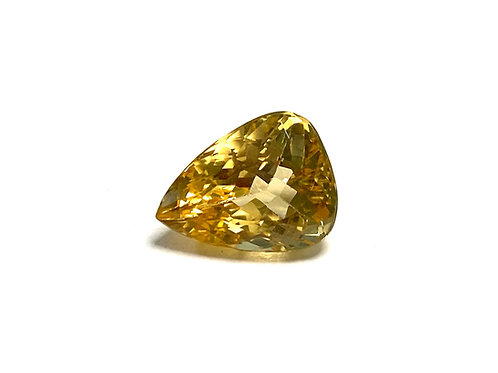 Imperial Topaz Pear 4.18 cts