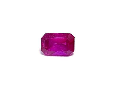 Ruby Emeraldcut 0.22 cts