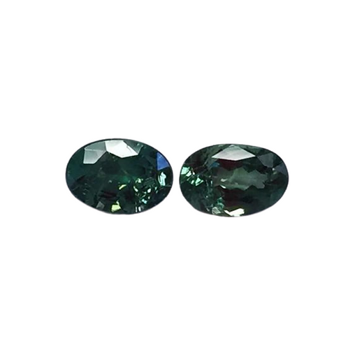 AA Quality Alexandrite Oval Pair 6 x 4 mm