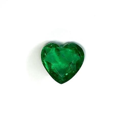Emerald Heart 2.29 Cts