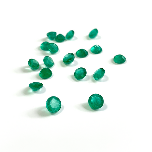 Emerald Round Approx. 5 x 3mm