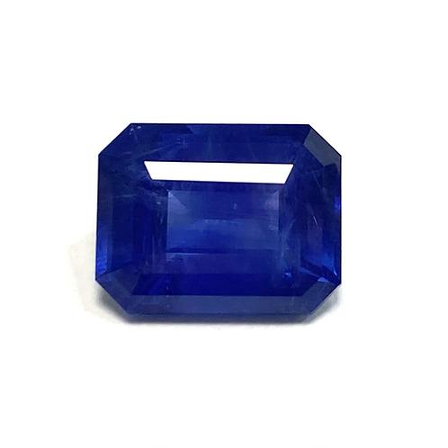 Ceylon Sapphire Emeraldcut 5.96 Cts
