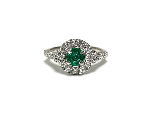 Emerald Round 0.56 cts