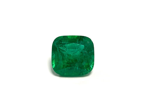 Emerald Cushion 11.04 cts