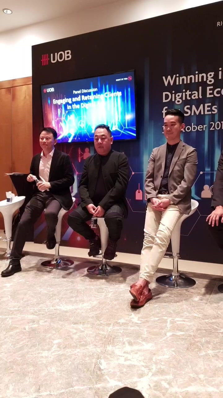 Winning in the Digital Economy - 3 Oct 2018