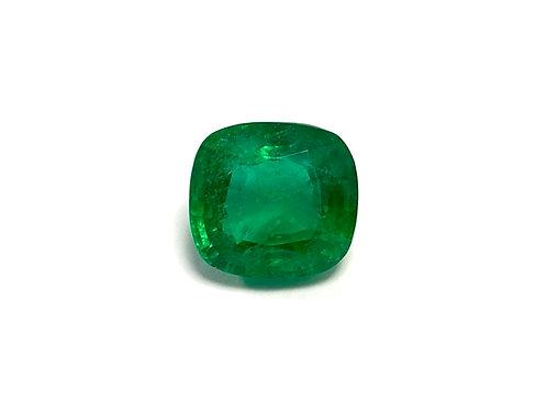 Emerald Cushion 8.18 cts