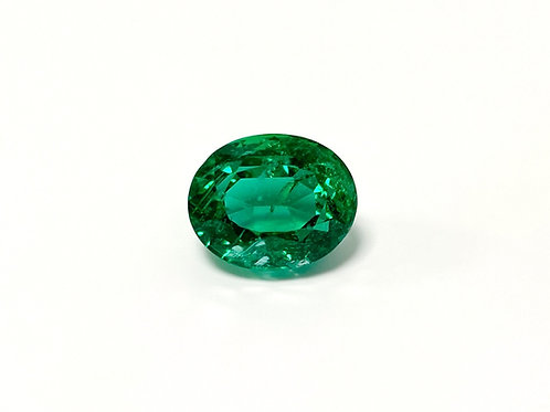 Emerald Oval 8.78 cts