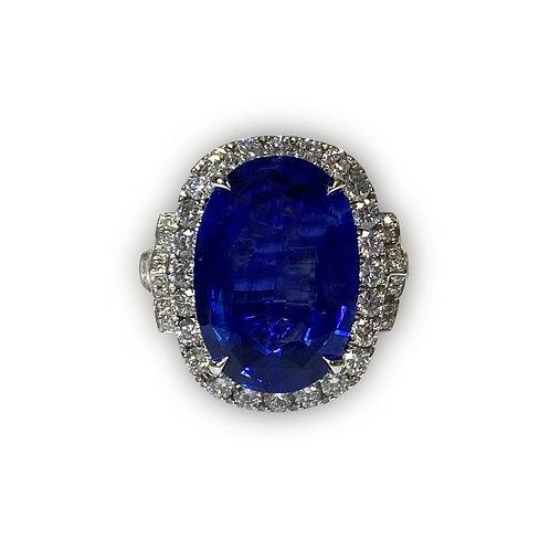 Ceylon Sapphire Oval 9.01 cts