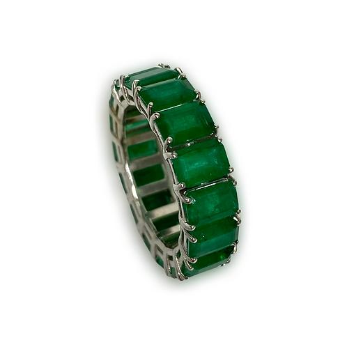 Emerald Emeraldcut Band 8.82 Cts