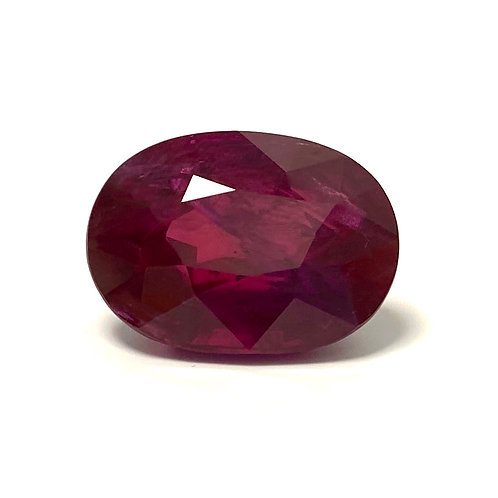 Ruby Oval 13.78 Cts